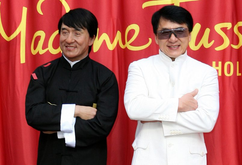 Jackie Chan Wax Unveiling at Madame Tussauds Hollywood